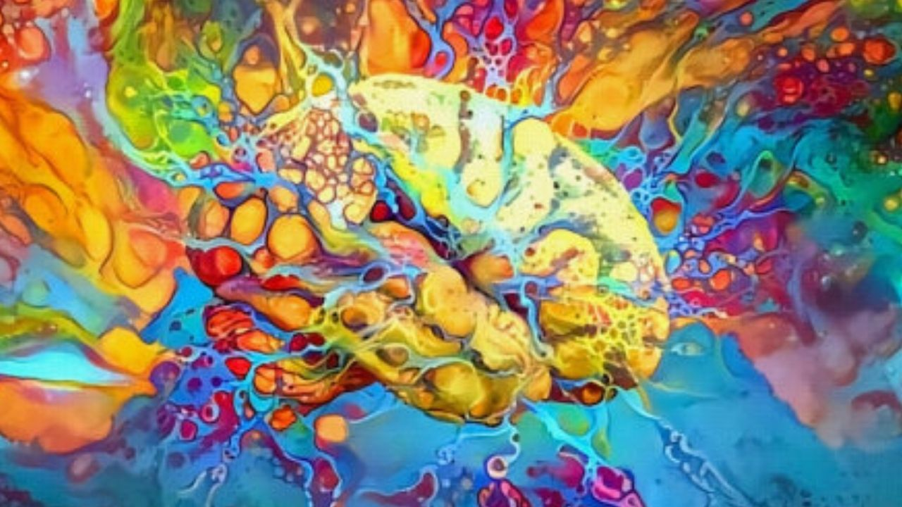 Dreaming brain illustration (stock image). Credit: © rolffimages / stock.adobe.com