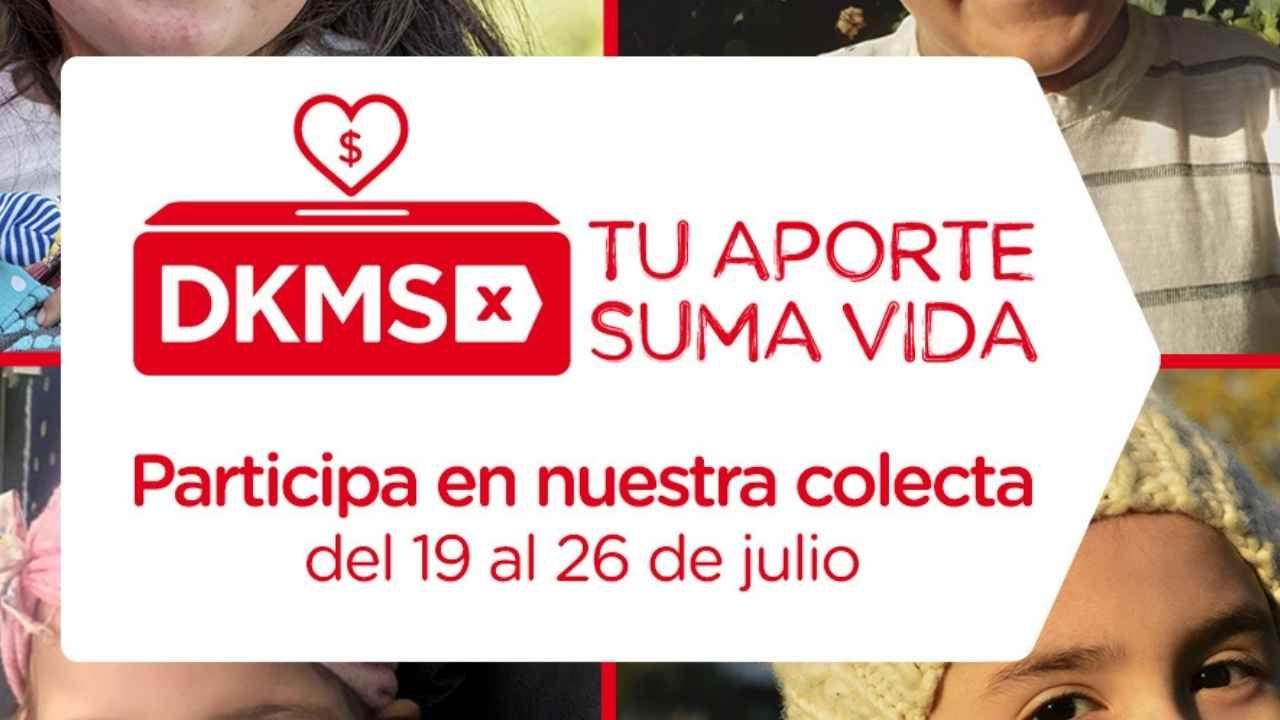 Fundación DKMS invita a Colecta Virtual para aumentar registro de potenciales donantes
